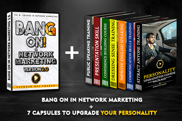 Bang On In Network Marketing Course Package cover